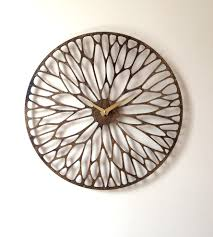 wandering laser cut wood clock wood clocks laser cut wood and