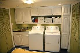 Laundry Room Storage Go Overhead With Laundry Room Storage Custom Closets Direct
