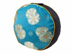 sari pattern zafu meditation cushion amazon com yogaaccessories tm round cotton zafu meditation