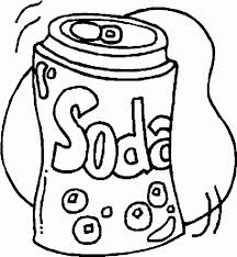 Get This Food Coloring Pages Soda Bf62n Food Color Pages