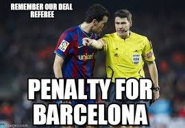 Barca Memes - memegen abdul dumbuya pinterest referee la liga and meme