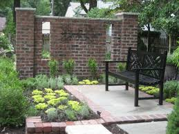 7 best brick wall images on pinterest brick garden garden walls