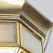 antique brass ls value transparent glass shade antique brass ceiling light