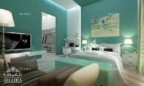 wise choice of the colors for the bedroom
