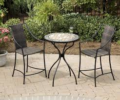 round bistro table set outdoor round patio table and chairs outdoor designs