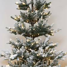 7ft christmas tree pre lit green snow effect real feel pe imperial spruce artificial