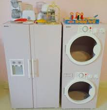 Wooden Clothes Dryer Wooden Play Refrigerator And Washer And Dryer By Martha Stwart Ebth