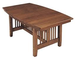 Keystone Lincoln Mission Dining Table From DutchCrafters Amish - Mission dining room table