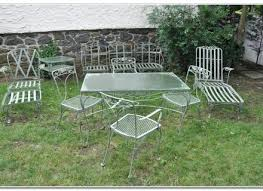 awesome vintage wrought iron patio furniture contemporary design