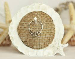 Wedding Ring Holder by Starfish Ring Holder Etsy