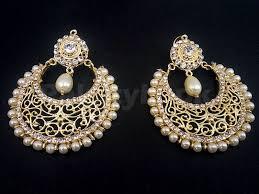 golden earrings pearl golden earrings price in pakistan m008871 check