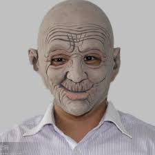 Halloween Costumes Man Mask Halloween Costume Party Funny Smiling Man Latex Mask
