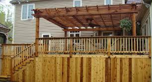 Deck Pergola Pictures by Pergola Arbors Deck And Patio Western Red Cedar Pergolas