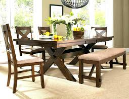 farmhouse table and chairs with bench country style dining sets listcleanupt com