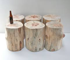 How To Make A Wood Stump End Table by Furniture Agreeable Home Furniture Ideas Using Green Wooden