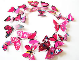 3d butterfly wall decoration pack of 12 shawn candice home