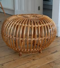 decorating rattan stool rattan ottoman for living room furniture