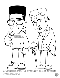 coloring pages of presents hip hop coloring book dokument press