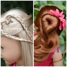 Easy Country Hairstyles by American Doll Hairstyles Inspired By Cutegirlshairstyles