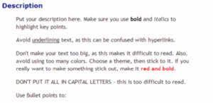 ebay auction listing html generator neil u0027s toolbox