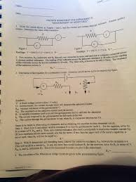 Parallel Circuit Problems Worksheet Preview Worksheet For Experiment D