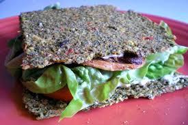 raw garden vegetable sandwiches with scallion cashew cream cheese