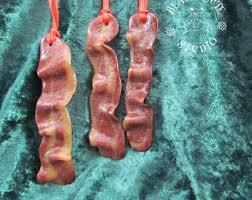 bacon ornament etsy