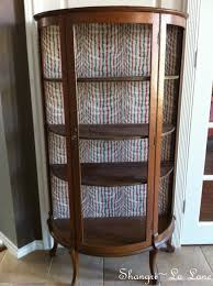 furniture most unusual solid mahogany dark wood curio cabinets