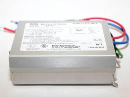universal electronic ballast 120v to 277v for 1 70w metal halide