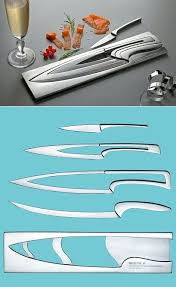 knifes nesting kitchen knives cutlery design awards combines
