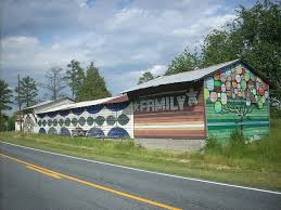 Barn Murals 11 Awesome Pieces Of Graffiti In North Carolina