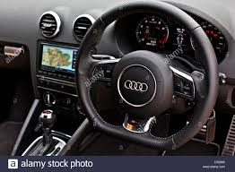 audi a3 dashboard dashboard and steering wheel audi rs 3 winchester england uk
