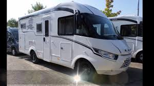 laika ecovip 610 st 2017 motorhome con garage 6 74 m youtube