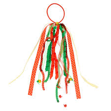 ribbon streamers christmas ribbon streamers hair tie s