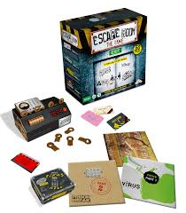 escape room bordspel entertainment
