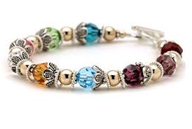 mothers birthstone bracelets mothers grandmother brag bracelet birth
