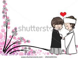 wedding wishes japan wedding invitation stock vector 111589187
