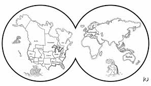 coloring pages earth printable for kids world page educations map