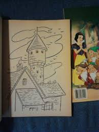 walt disney u0027s snow white dwarfs coloring books x2