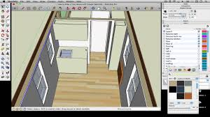 how to draw a tiny house with google sketchup part 7