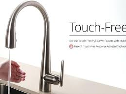 touch faucets for kitchen touchless kitchen faucet kitchen faucet delta superb touch react