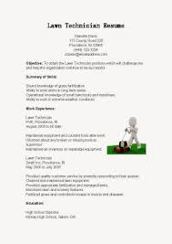 Lawn Care Resume Sample by Sample Resume For Lawn Care Worker Resume For Your Job Application