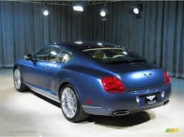 bentley blue color 2010 blue crystal bentley continental gt speed 22696719 photo 2