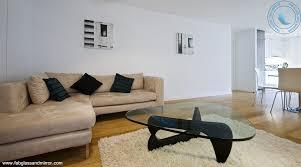 noguchi style glass coffee table w black u0026 white gloss