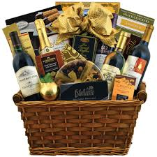 the office gathering champagne gift basket