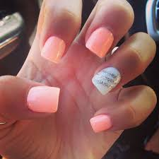 best 10 peach nails ideas on pinterest summer pedicure colors