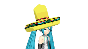 cartoon sombrero mmd sombrero download by freezyfreezymeloetta on deviantart