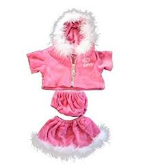 teddy clothes pink dress teddy clothes fits most