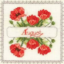 Flowers Of The Month Sudberry House Machine Cross Stitch Embroidery