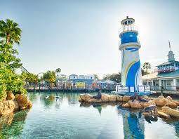 Florida Lighthouses Map by Seaworld Orlando Experience Kissimmee